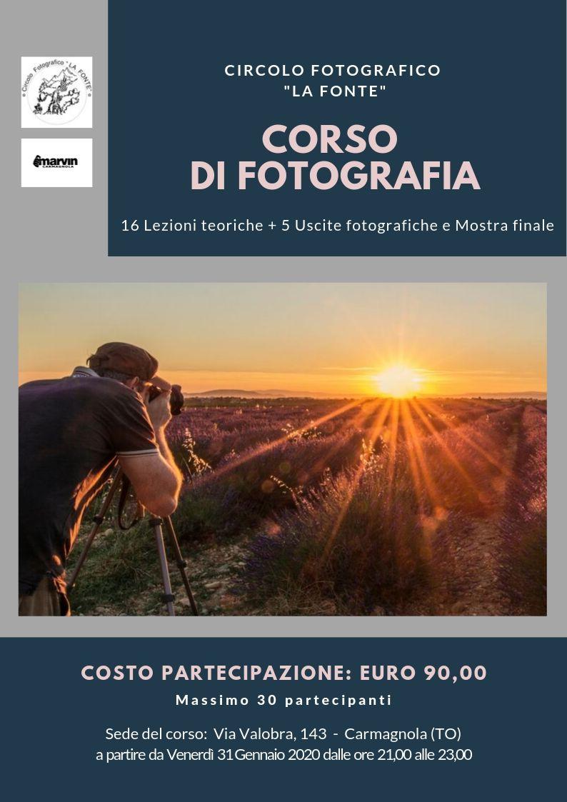 Corso di Fotografia 2020